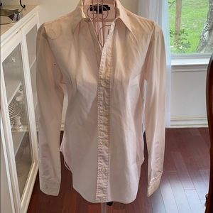 Ralph Lauren light pink long sleeve size 8